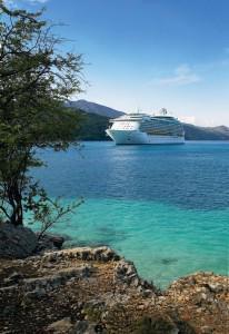 Royal Caribbean ship in Labadee