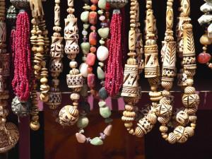 Bedouin jewelry for sale at Petra