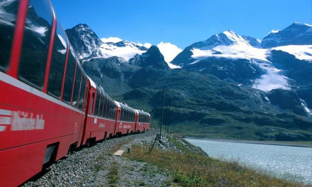 Staying Connected: Traveling on Switzerland's Train System