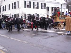 Woodstock Wassail Weekend Parade