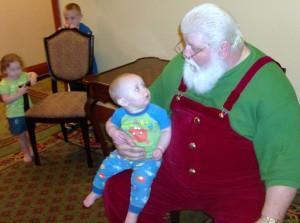 Santa at Inn