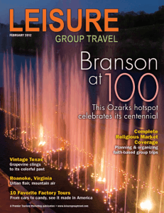 February 2012 Leisure Group Travel Magazine