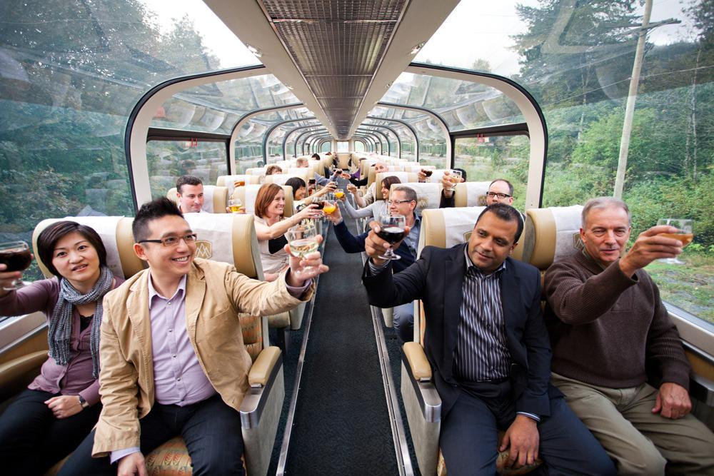 All Aboard the Rocky Mountaineer for a Unique Group Travel Experience