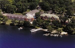 Heidel House Resort in Green Lake, Wisconsin was established in 1945.