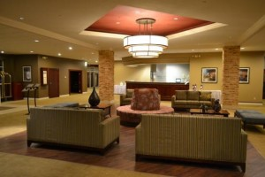 Heidel House Resort lobby