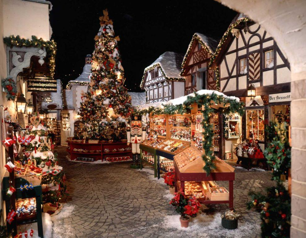 christmas village caffeina