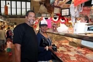 Cleveland West Side Market Meat