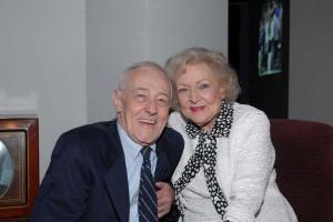 John Mahoney and Betty White