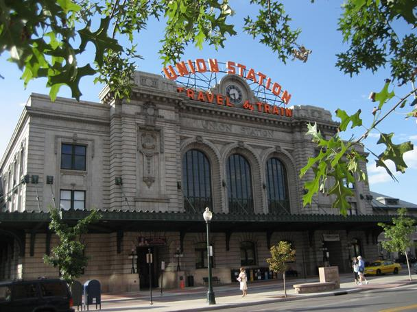 Union Station in Denver Lodo