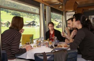 Dining on the Rails