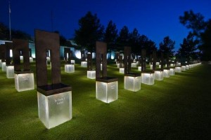 Field of Chairs (Photo Courtesy of OklahomaCityNationalMemorial.org)