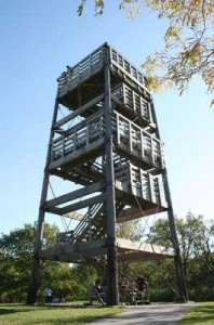 Delafield, Lapham Peak Tower