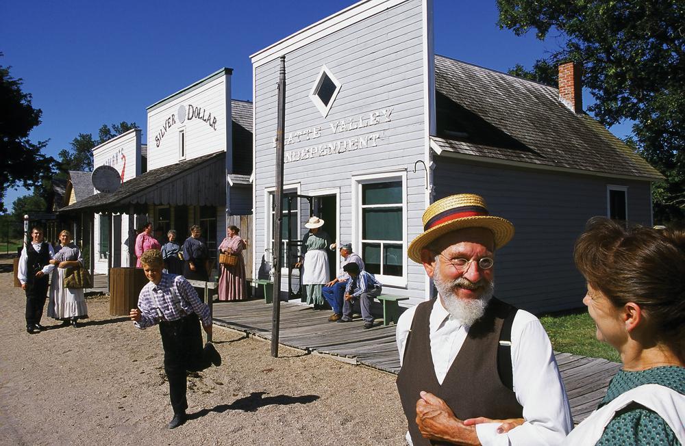 Stuhr Museum of the Prairie Pioneer, Grand Island, NE.
