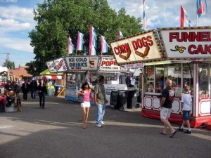 Wyoming State Fair Midway