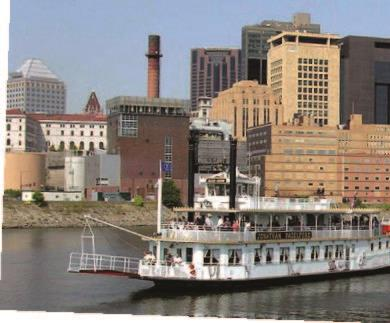 Mississippi river cruises aboard padelford riverboats