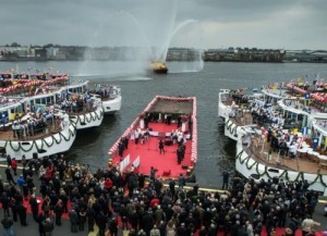 "Viking River Cruises sets a Guinness World Record for ""The Most Ships Inaugurated in One Day by One Company"""