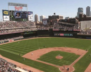 Summer visitors to Minneapolis can catch a Minnesota Twins baseball game at Target Field, where private group tours are available.