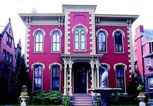 Mansions line Millionaire's Row, or West Fourth Street, in Williamsport.