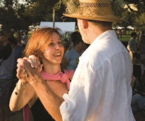 Visitors can learn the local dance steps in Louisiana's Cajun Country.