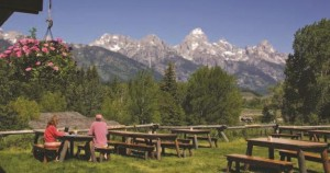 The Rockies' jagged peaks provide a stunning backdrop at Grand Teton National Park.