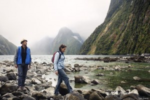 Milford Sound Rock-Hopping