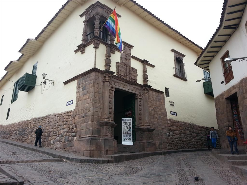 Inca Museum Entrance. Photo by Lance Harrell