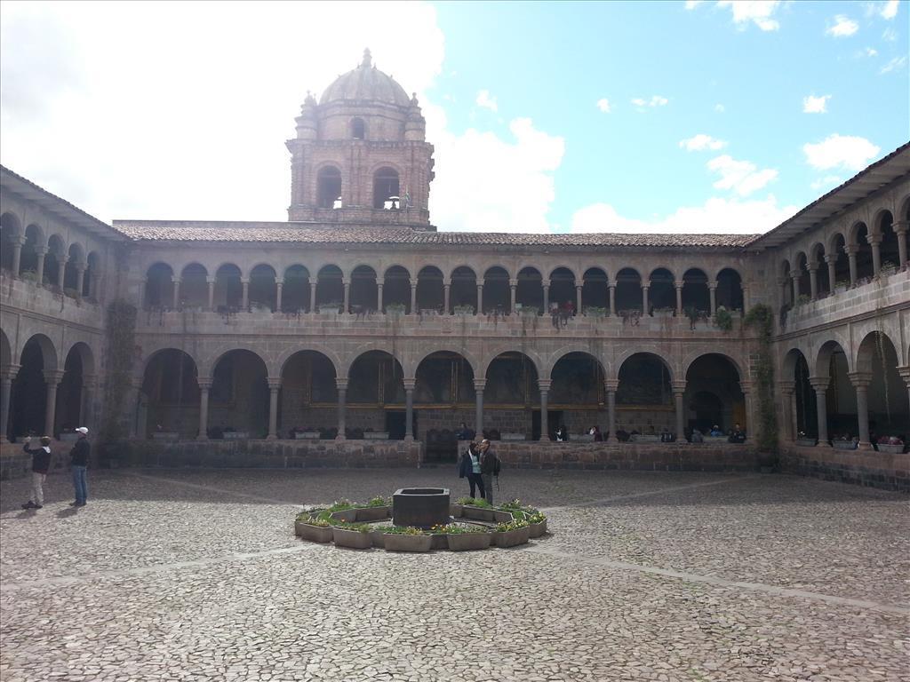 Interior plaza of Qoricancha. Photo by Lance Harrell