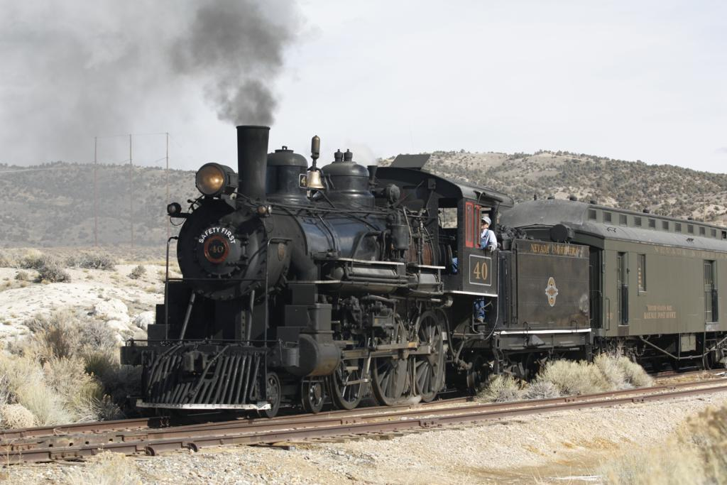 Riding The Rails In Nevada