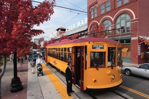 Little Rock Trolley Car
