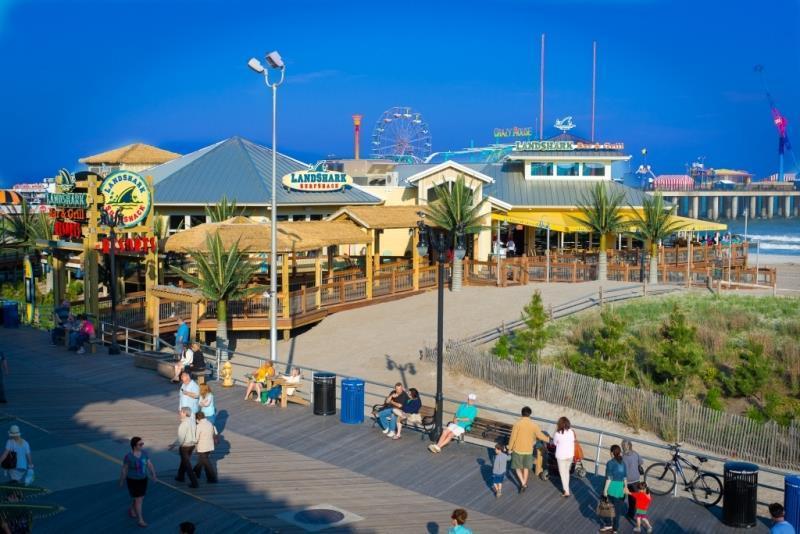 Jimmy Buffett's Margaritaville and Landshark Bar & Grill arrived at Resorts Casino Hotel