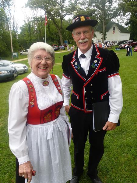 New Glarus Swiss Couple