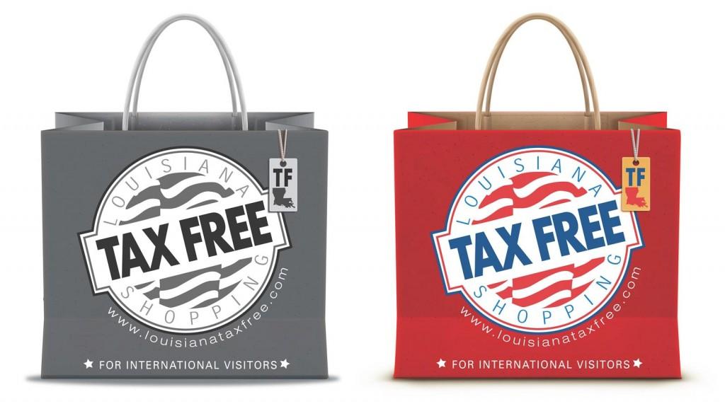 Tax Free Logo for International Visistors