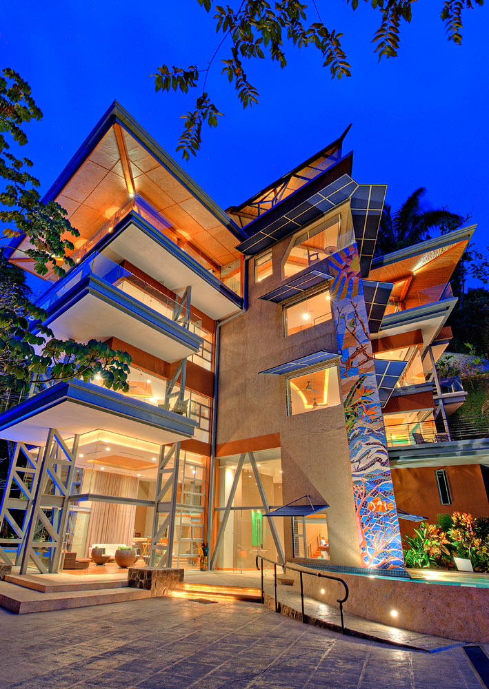 Modern cottage modern cottage design - Costa Rica S Punta De Vista Refining The Business Retreat