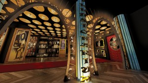 lobby area of Illusionarium