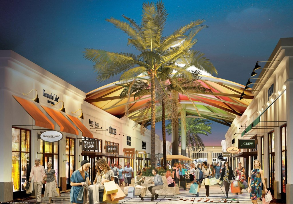 Outlets Joins Sun And Sand As Palm Beach Attractions