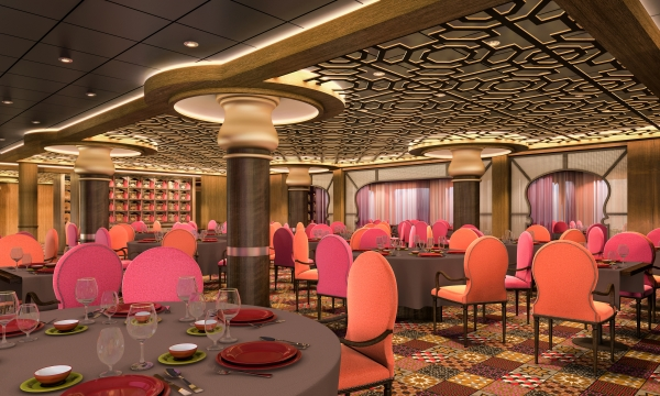 "Quantum of the Seas - ""Dynamic Dining"" Debuts •"