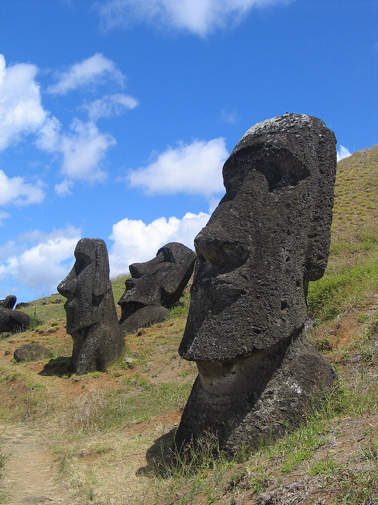 Easter Island. Credit