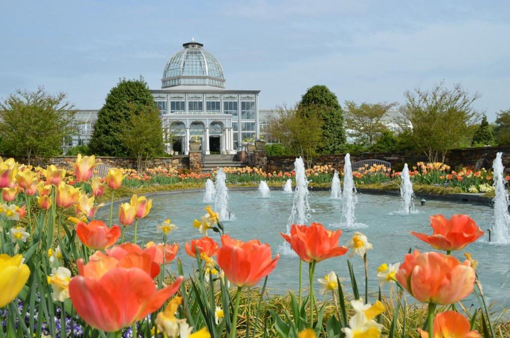 Lewis Ginter Botanical Garden Conservatory, Richmond,