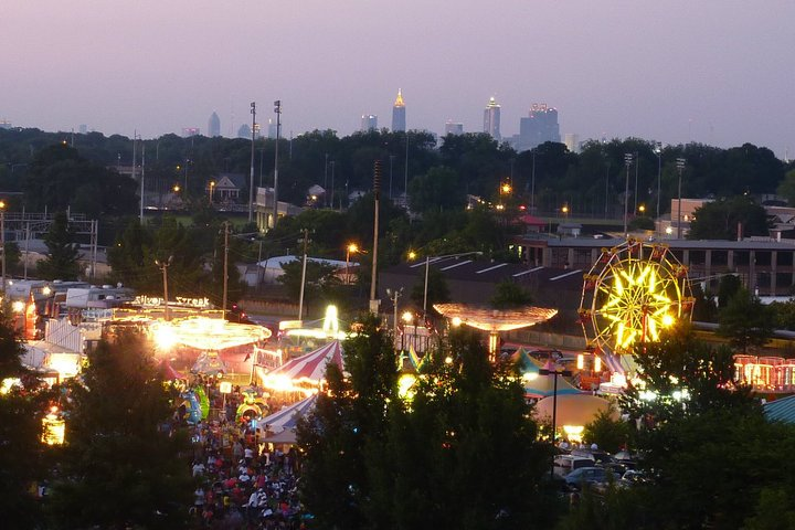4th of July Skyline, Credit: East Point Main Street Association