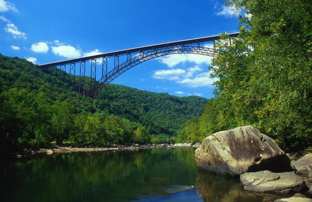 New Rive rGorge Bridge
