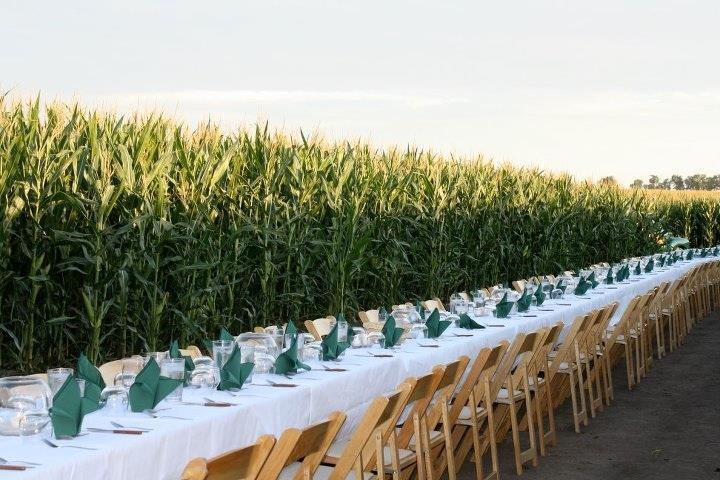 Cuisine in the Corn