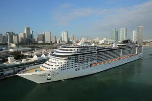 MSC Divina in Miami