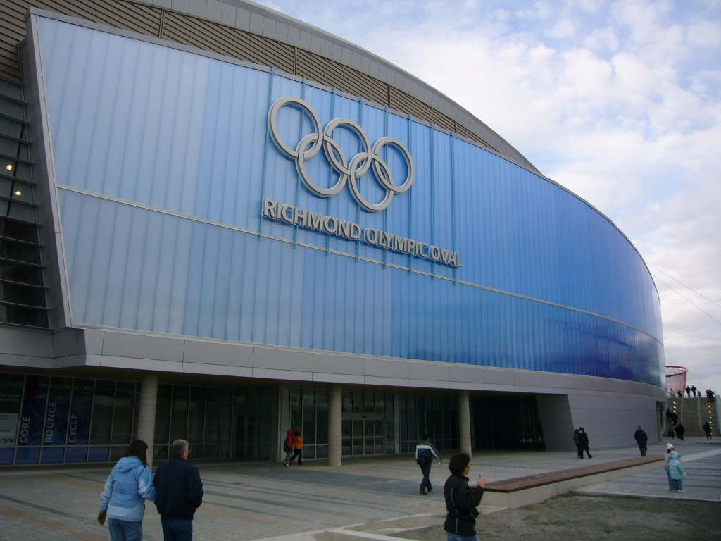 Richmond Olympic Oval. Credit