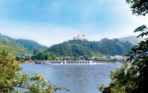 SS Antoinette on the Rhine