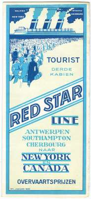 Promotional Poster for Red Star Line