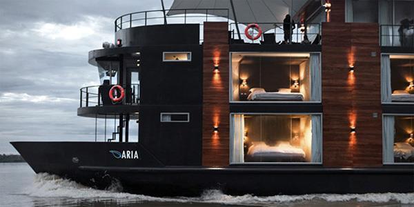 Aria luxury ship. Credit: Avalon Waterways.