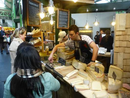Borough Market Cheeses
