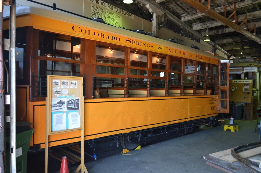The Manitou & Pikes Peak Railway, which offers trips to the top of Pikes Peak, used to operate with steam locomotives, but they are now all diesel-electric.