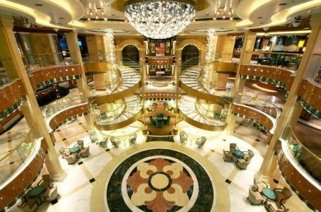 Piazza on Regal Princess (photo courtesy of Princess Cruises)