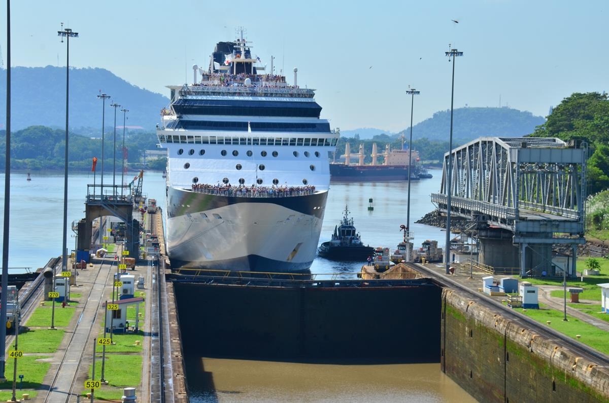 Celebrity Cruises Panama Canal Tour Highlights - YouTube